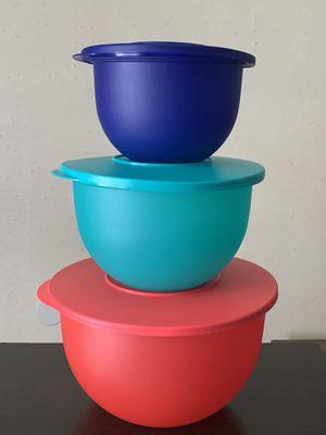 Classic Tupperware 3pcs bowl set. for Sale in San Jose, CA