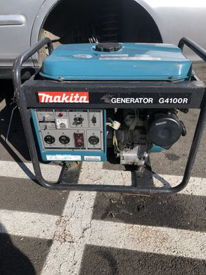 Makita generator 4100 watts for Sale in Los Angeles, CA