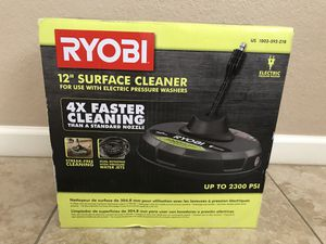 RYOBI 12 in. 2,300 PSI Electric Pressure Washers Surface Cleaner for Sale in Phoenix, AZ