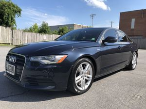 AUDI A6 SUPERCHARGED 69,000 miles CHOCOLATE INTERIOR PREMIUM PLUS WITH PADEL SHIFTERS 3.0T for Sale in Calverton, MD