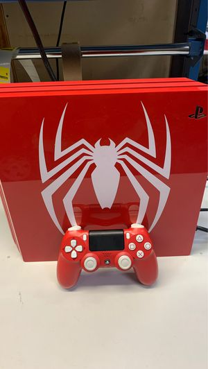 Spider-Man edition PS4 PRO for Sale in Brandon, FL