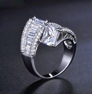 White Sapphire Ring for Sale in Rose Hill, NC