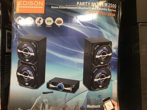 Edison party system 2500 for Sale in Hialeah, FL