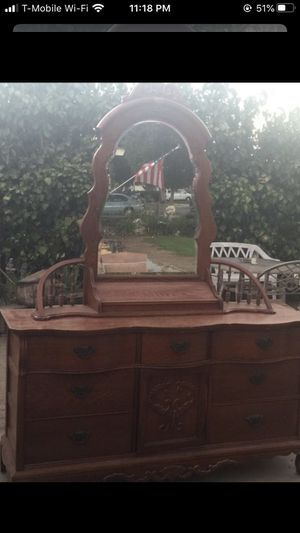 Antique dresses furniture real wood for Sale in Pomona, CA