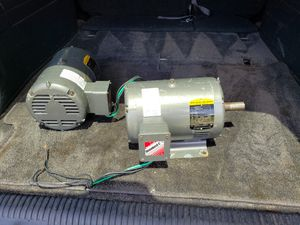 Baldor 5hp 3phase industrial motors $150 or OBO for Sale in Riverview, FL
