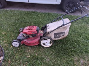 Toro self-propelled with bag runs great for Sale in Salt Lake City, UT