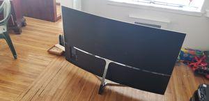 65 inch samsung 4k ultra HD curved screen. for Sale in Salt Lake City, UT