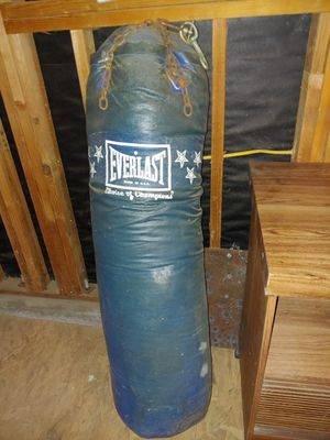 Punching Bag n stand up bag n speed bag popped needs fixing $200 for Sale in Newman, CA