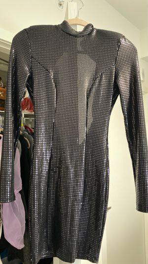 Black Metallic fitted dress for Sale in Davie, FL