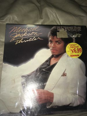 Micheal Jackson Thriller record tape for Sale in Riverdale, GA