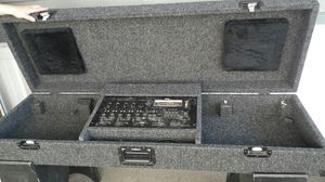 2 turntables with separate cases, one mixer and coffin to hold all 3 for Sale in San Jose, CA