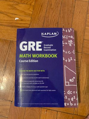 GRE Kaplan Math Workbook for Sale in St. Louis, MO