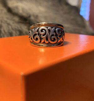 James Avery 14k /.925 Scrolled FLEUR-De-Lis Ring for Sale in Pasadena, TX