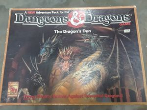 Dungeons & Dragons The Dragon's Den board game for Sale in Fort Pierce, FL