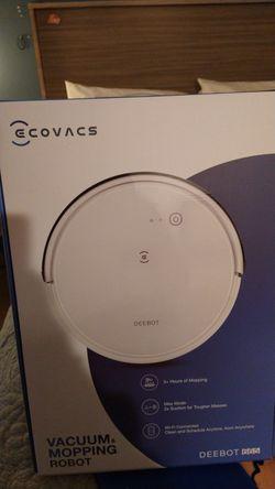 Ecovacs debot robot vacuum cleaner brand new for Sale in Tukwila,  WA