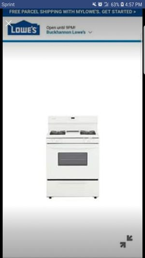 Gas Range for Sale in Glenville, WV