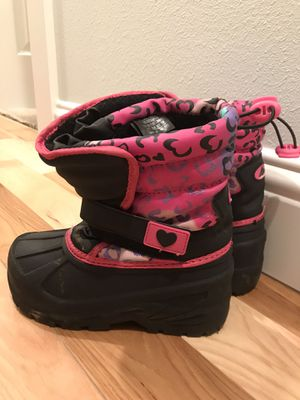 Girl snow boots size 12 for Sale in Portland, OR
