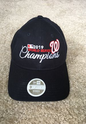 Washington Nationals World Champions Baseball Cap (Womens) for Sale in West McLean, VA