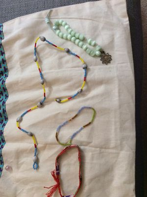 Beaded chain and bracelet for Sale in Farmville, VA