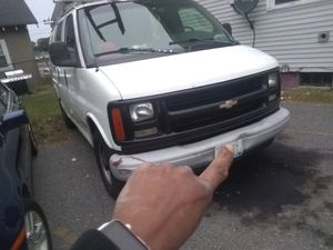 2000 Chevy express 3500. 139,000 miles ladder rack and tools boxes inside. $2900 OBO. Or trade for a box truck. for Sale in Pawtucket, RI