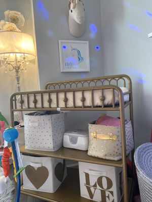 Gold Changing table for Sale in The Bronx, NY