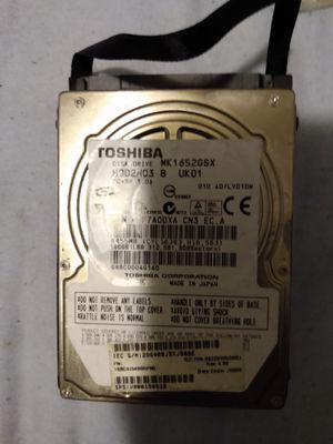 Toshiba laptop hard drive 160gb for Sale in St. Louis, MO