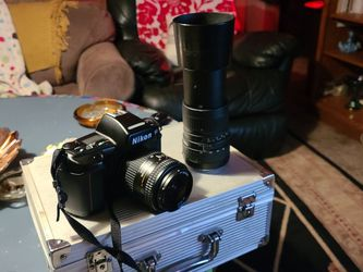Nikon F90 /28-70mm With Sigma 100-300 Telescoping Lens for Sale in Aurora,  OH