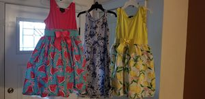 Girl sun dresses size 6 for Sale in Federal Way, WA