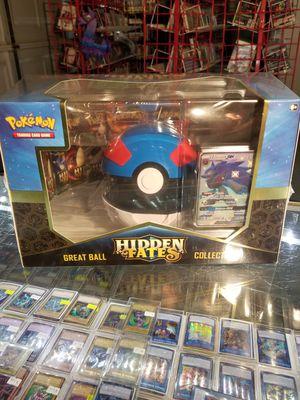 Hidden Fates Great Ball Collection (Pokemon) for Sale in San Bernardino, CA