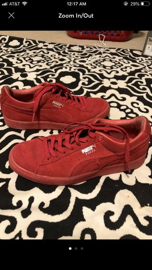 PUMA Suede Red Shoes for Sale in Spring, TX