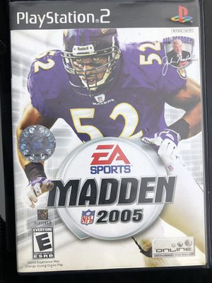 PS2 Madden 2005 for Sale in Sudley Springs, VA