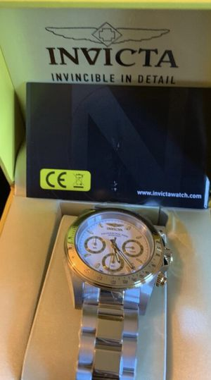 Invicta speedway , mint condition , never used for Sale in Yonkers, NY