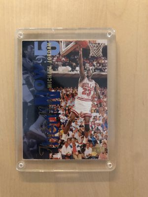 Jordan vintage upper deck collectible card for Sale in Los Angeles, CA