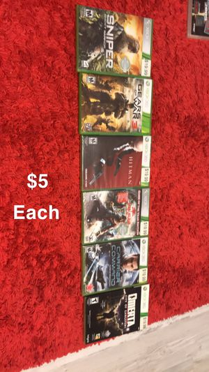Brand new Xbox 360 games for Sale in Peoria, AZ