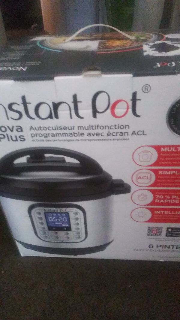 Instant pot cooks real good willing compromise on price