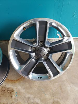 2017 Jeep wrangler wheels for Sale in Creedmoor, TX