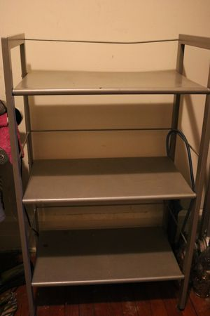 2 Crate & Barrel Metal Book Shelves for Sale in Chicago, IL
