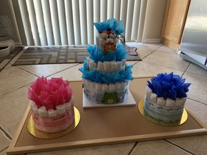 Diaper Cakes and Accessories for Sale in Phoenix, AZ