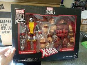 Marvel Legends 80th Anniversary Colossus and Juggernaut Action Figures for Sale in Los Angeles, CA
