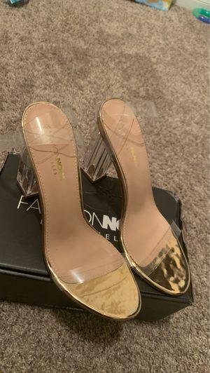Fashion Nova Glass Slipper Heel for Sale in Houston, TX