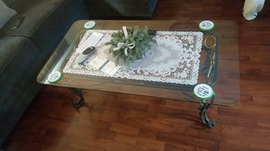 Glass top end tables and coffee table for Sale in Vancouver, WA
