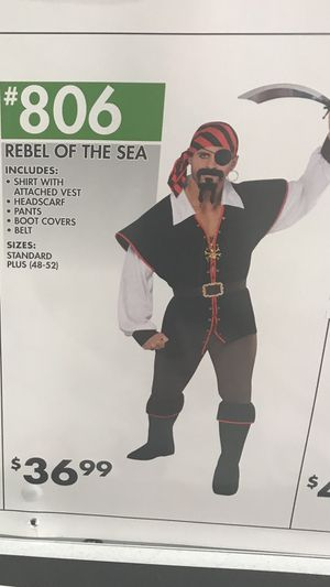 Used his and HersHalloween pirate costumes for Sale in Lincoln, RI