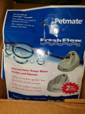 Charcoal Filters for Petmate watering station. for Sale in St. Louis, MO