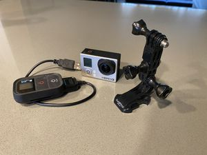 GoPro HERO3: Silver Edition & Smart Remote for Sale in Banks, OR