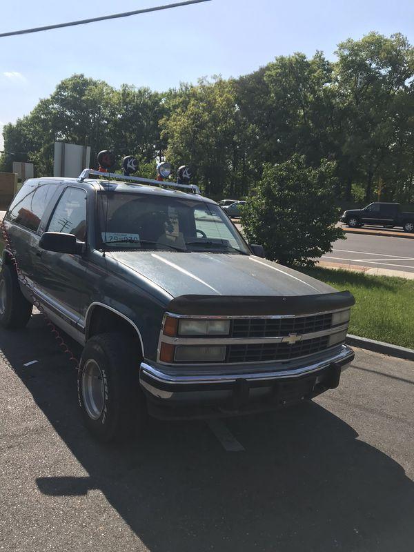 Chevy Blazer Silverado