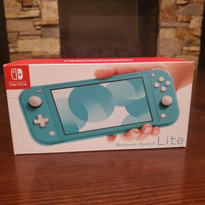 Nintendo Switch Lite Turquoise Brand New for Sale in St. Peters, MO