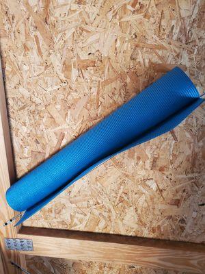 Plain Blue Yoga Mat for Sale in Okeechobee, FL