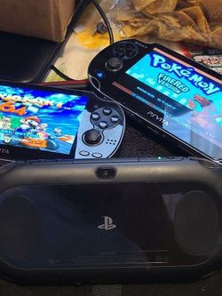 PS Vita slim over 3000 games and can download more games using Wi-Fi for Sale in Madera,  CA