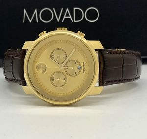 Men's Movado gold chronograph watch for Sale in Nashua, NH