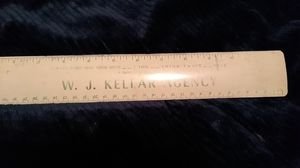 Retro Metal Ruler for Sale in Mount Holly, NC